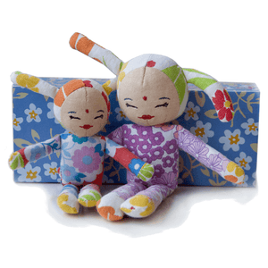 Kids On Roof  - Rabbit doll (large) - Doll - Bmini | Design for Kids