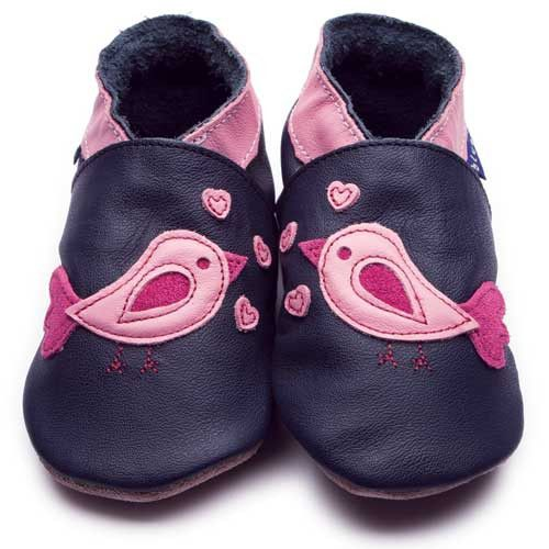 Inch Blue - Bird d' Amour (Navy) - Shoes - Inch Blue - Bmini - Design for Kids