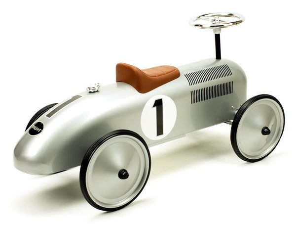 Retro Roller - Classic Silver Racer - Jean - Ride on toy - Retro Roller - Bmini - Design for Kids - 2