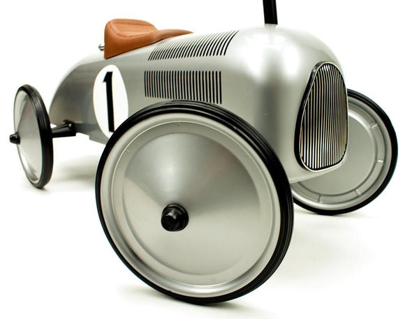 Retro Roller - Classic Silver Racer - Jean - Ride on toy - Retro Roller - Bmini - Design for Kids - 4