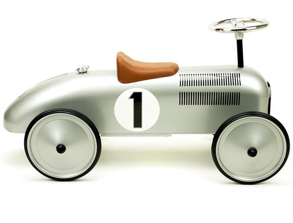 Retro Roller - Classic Silver Racer - Jean - Ride on toy - Retro Roller - Bmini - Design for Kids - 3