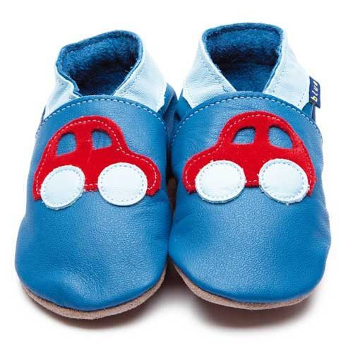 Inch Blue - Car (blue/red) - Shoes - Inch Blue - Bmini - Design for Kids