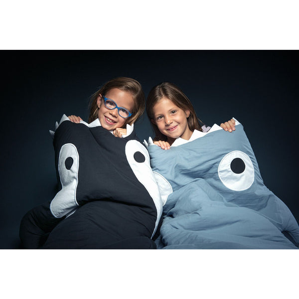 Baby Bites - Kids Sleeping Bag - Blue - Sleeping bag - Bmini | Design for Kids