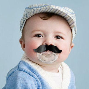 Fred & Friends - Mustache Pacifier (0 to 6m) - Pacifier - Bmini | Design for Kids