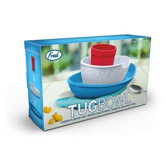Fred & Friends - Tug bowl dinner set - Plates - Fred and Friends - Bmini - Design for Kids - 3