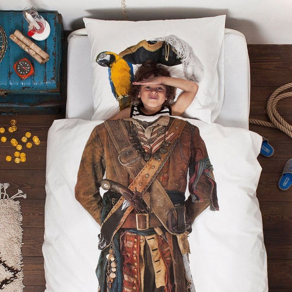 Snurk - Pirate duvet cover - Duvet cover - Snurk - Bmini - Design for Kids - 2