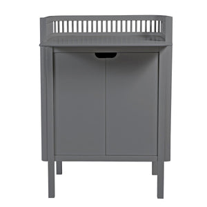 Sebra - Changing Unit - Dark Grey - Changing Unit - Bmini | Design for Kids