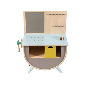 Sebra - Play tool bench - Warm Grey