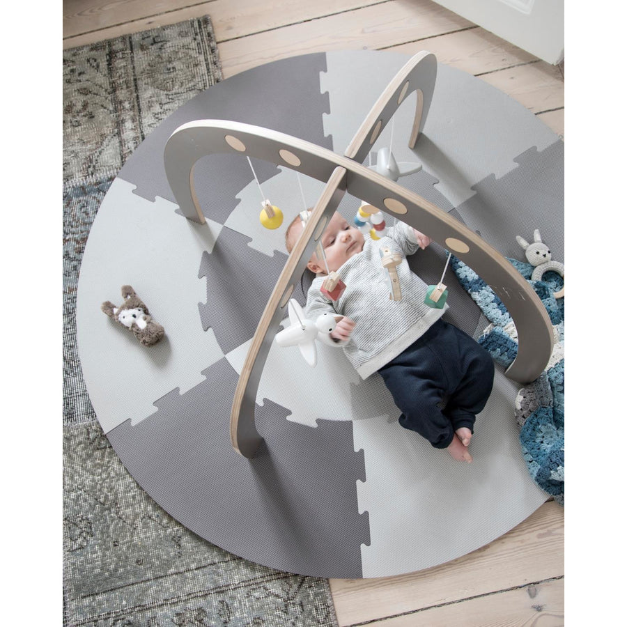 Sebra - Play mat - Warm grey - Play Mat - Bmini | Design for Kids