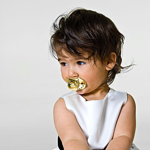 Elodie Details pacifier -  golden edition (+3m) - Pacifier - Elodie Details - Bmini - Design for Kids - 1