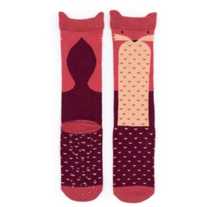 Billy Loves Audrey - Knee hi socks - Fox - Socks & Tights - Bmini | Design for Kids