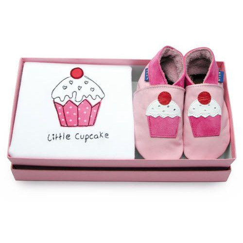Inch Blue Little cupcake gift set - Shoes - Bmini | Design for Kids