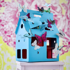 StudioRoof - Blue MobileHome - Playhouses - StudioRoof - Bmini - Design for Kids - 2