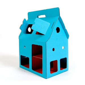 Kids On Roof  - Blue MobileHome - Playhouses - Bmini | Design for Kids