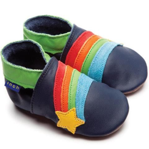 Inch Blue Rainbow star - Shoes - Inch Blue - Bmini - Design for Kids