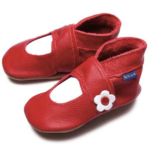 Inch Blue - Mary Jane Red - Shoes - Bmini | Design for Kids