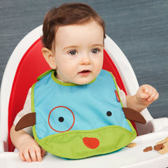 Skip Hop - Zoo bib - Dog - Bib - Skip Hop - Bmini - Design for Kids - 1