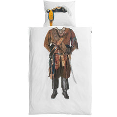 Snurk - Pirate duvet cover - Duvet cover - Snurk - Bmini - Design for Kids - 1