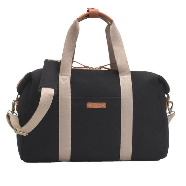Storksak - Weekend bag - Bailey Black - Diaper bags - Bmini | Design for Kids
