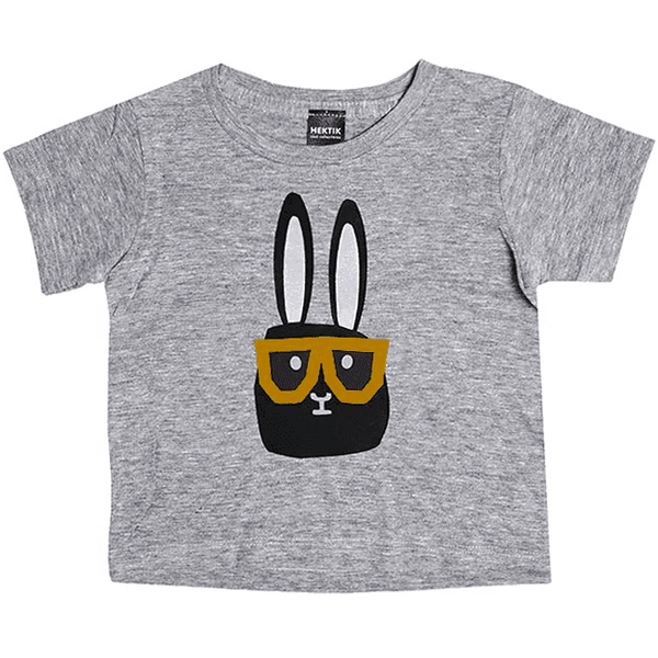 Hektik - Flap with glasses t-shirt - t-shirt - Hektik - Bmini - Design for Kids