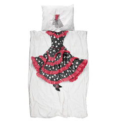Snurk - Flamenco bedding - Duvet Cover - Snurk - Bmini - Design for Kids - 1
