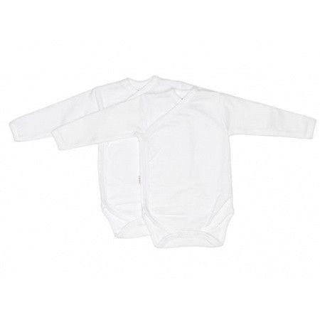 ISI mini - White Wrap Romper - Romper - Bmini | Design for Kids