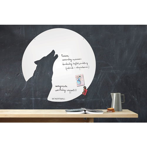 Wonderwall - Magnetic White Board - Wolf - white board - Wonderwall - Bmini - Design for Kids