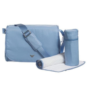 Armani Baby, Changing bag Sky blue - Diaper bags - Bmini | Design for Kids