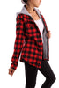 Flannel Hooded Jacket