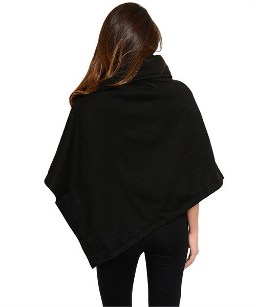 Fall Poncho Top AS SEEN ON JWOWW