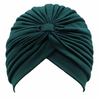 Emerald Green Turban by Tracy DiMarco