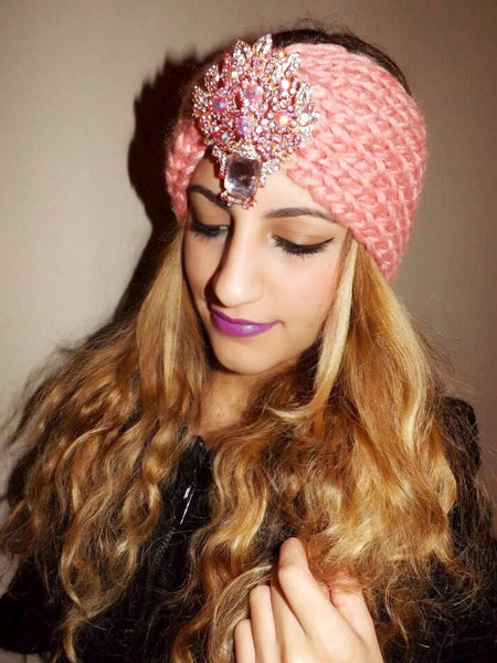 Perfectly Pink Glam Ear Warmer