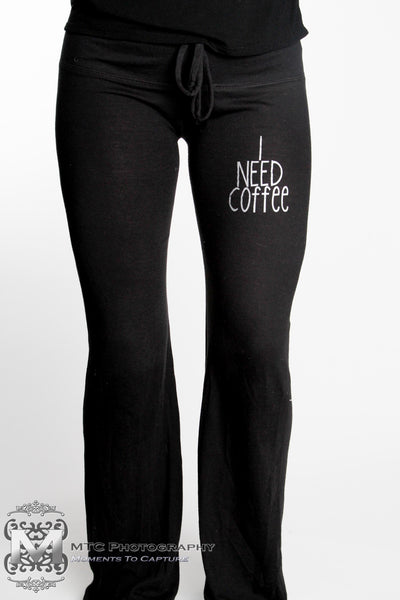 I Need Coffee Lounge Pants