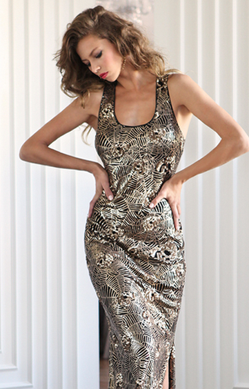 Show Stopping Sequin Dress