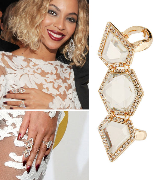 Stone Stretch Ring AS SEEN ON BEYONCE