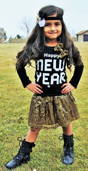 New Years Glam Outfit