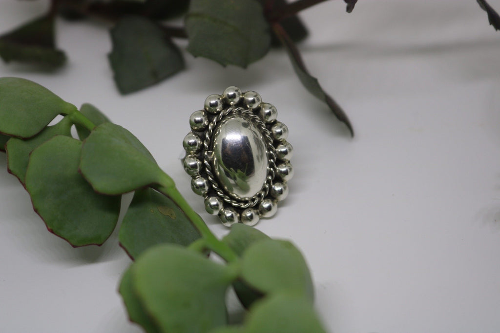 Cameo Sterling Ring