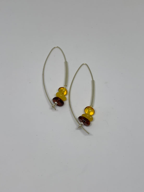 Tres Piedras Earrings