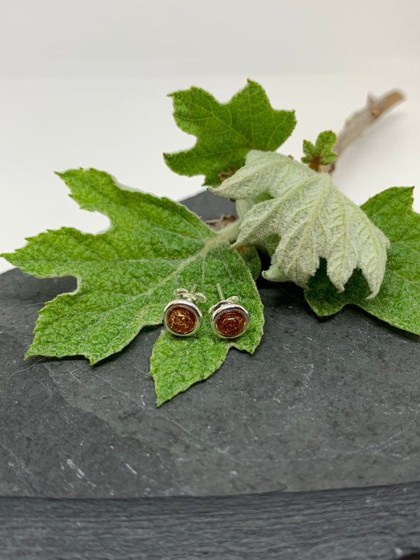 Eyes of Jupiter Stud Earrings