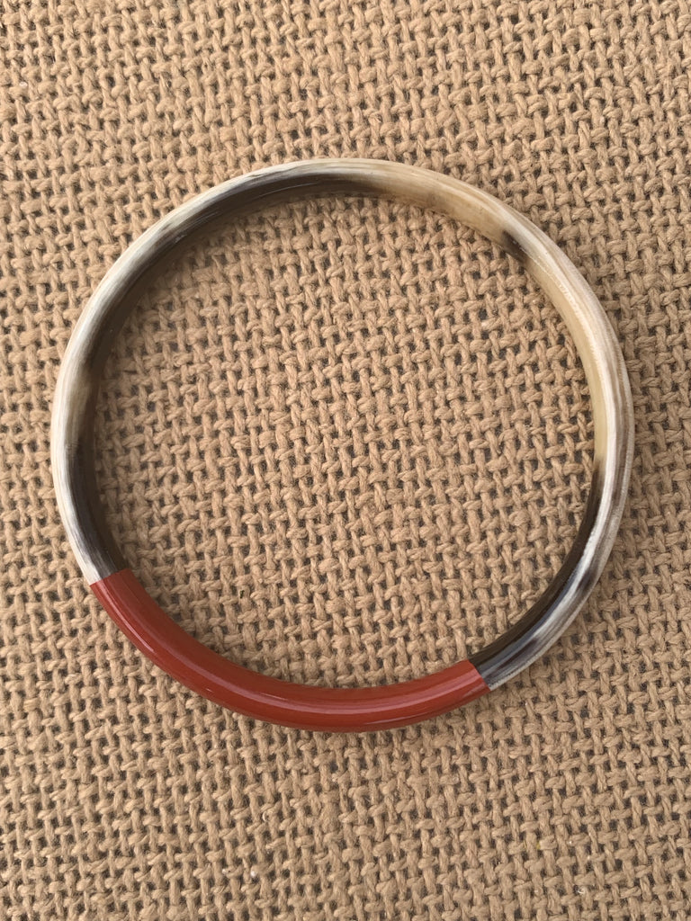 Red Buffalo Bangle