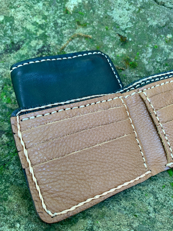 Genuine Leather Handcrafted Wallet