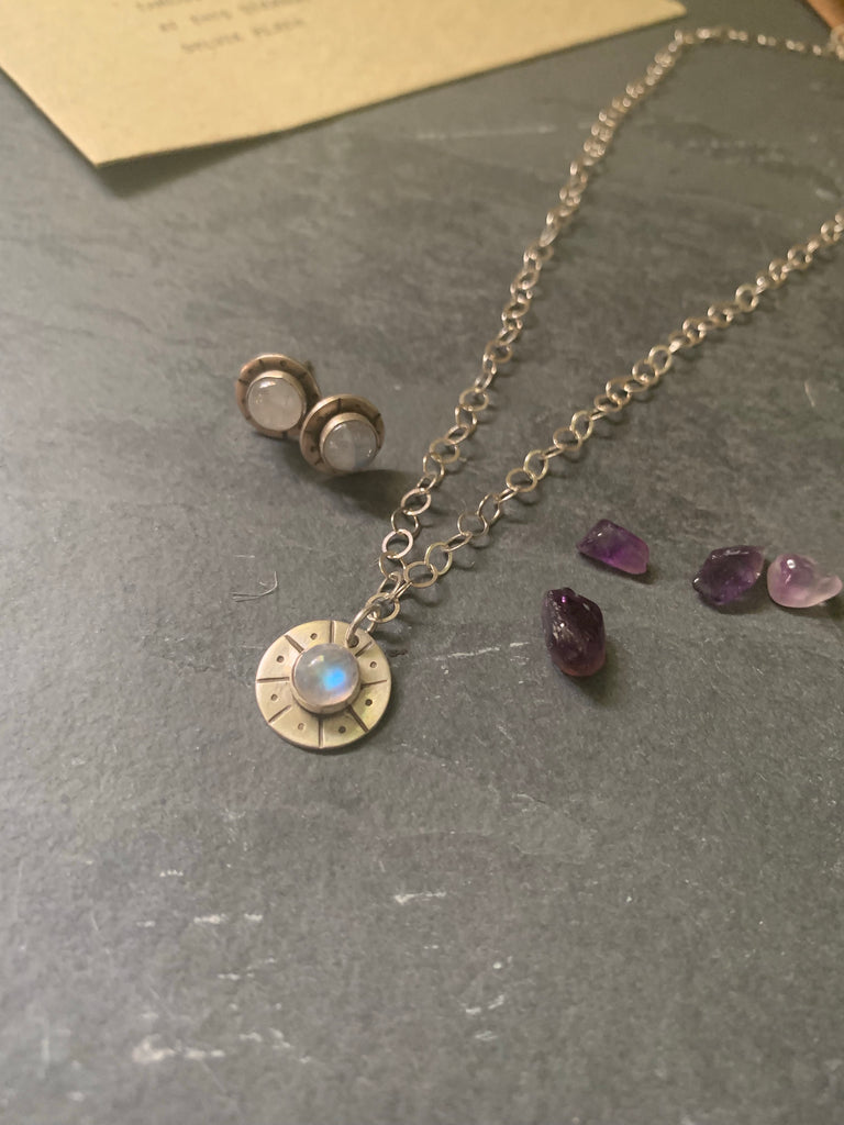 Jupiter's Moon Necklace