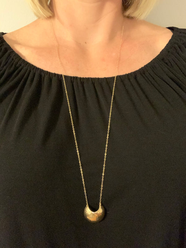 Gold Meridian Necklace