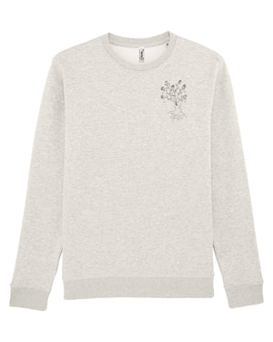 Sweat gris crème - Body in bloom - Mood Clothing