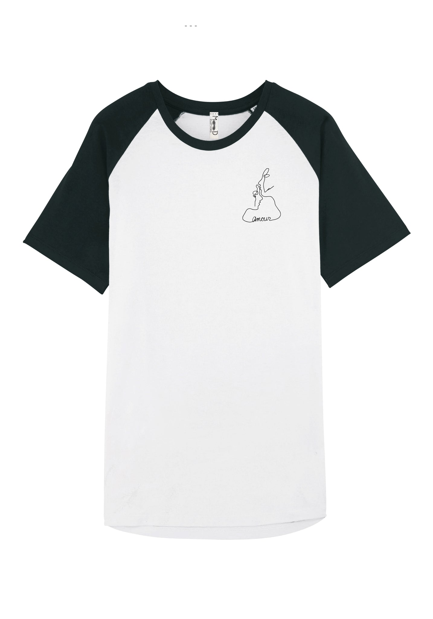 T-shirt baseball - Amour - Mood Clothing