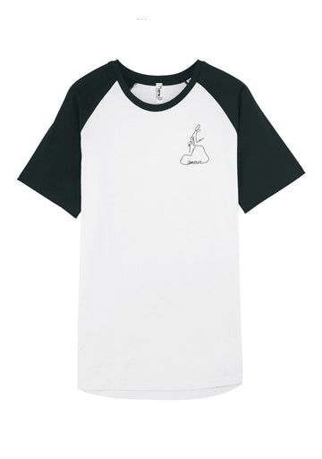 T-shirt baseball - Amour
