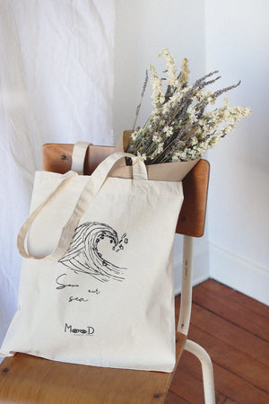 Tote bag Naturel - Save our sea - Mood Clothing