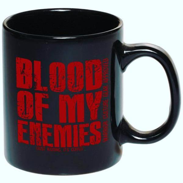 Limited Blood Of My Enemies Mug