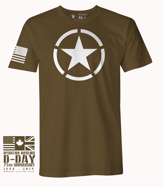 D-Day 75th Anniversary Star