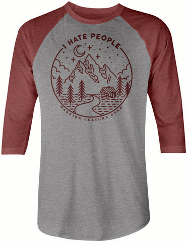 PRE-SALE: I Hate People Raglan
